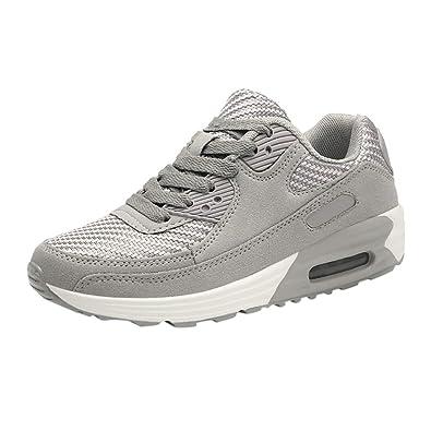 Zapatos de Aumento Mujer Zapatillas de Deporte Correr Gimnasio ...