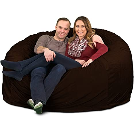 Enjoyable Ultimate Sack 6000 Bean Bag Chair Giant Foam Filled Furniture Machine Washable Covers Double Stitched Seams Durable Inner Liner And 100 Virgin Forskolin Free Trial Chair Design Images Forskolin Free Trialorg