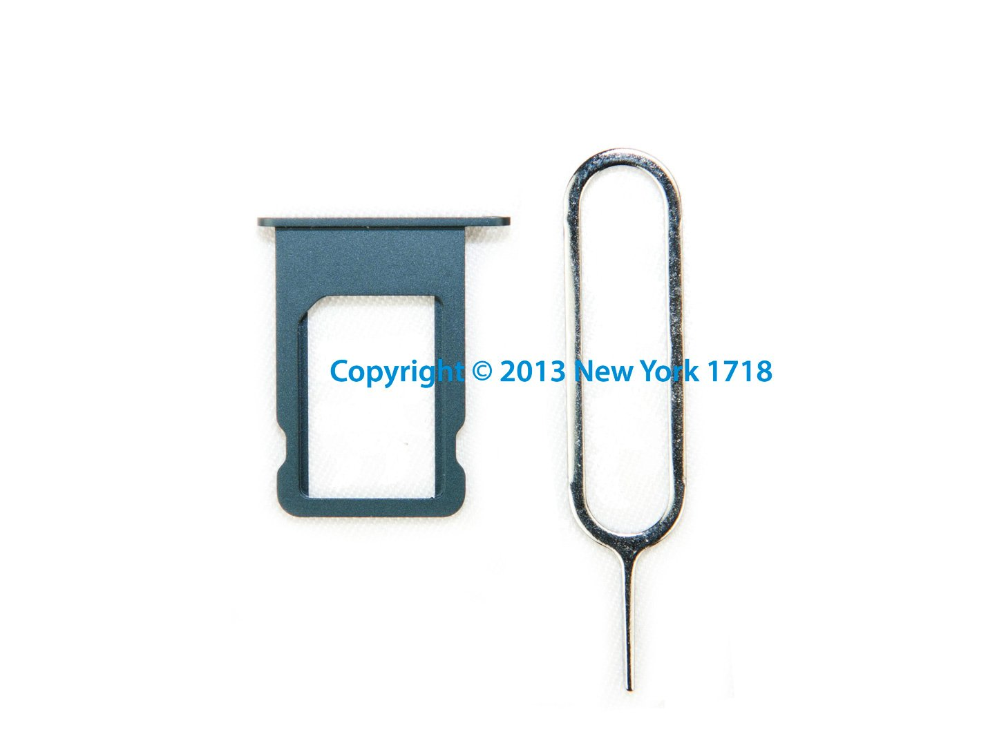 New Original iPhone 5 SIM Tray and Ejector Pin Combo (Black) - NY1718 by New York 1718