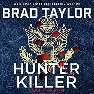 Book Cover: Hunter Killer: A Pike Logan Novel - Library Edition