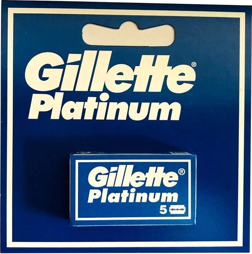 Gillette - Cuchillas Platinum (5 unidades)