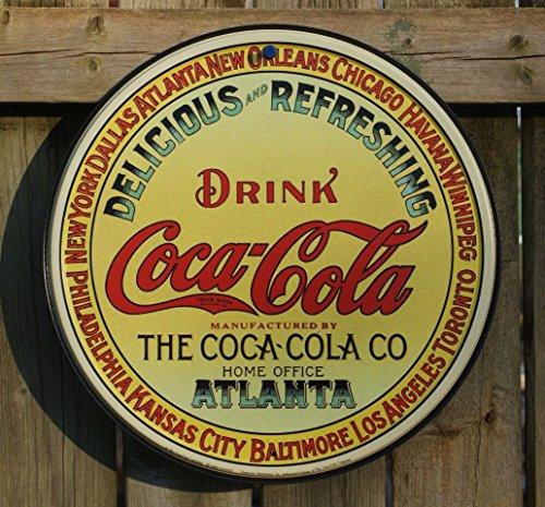 Coca-Cola Tin Sign 12 x 12in