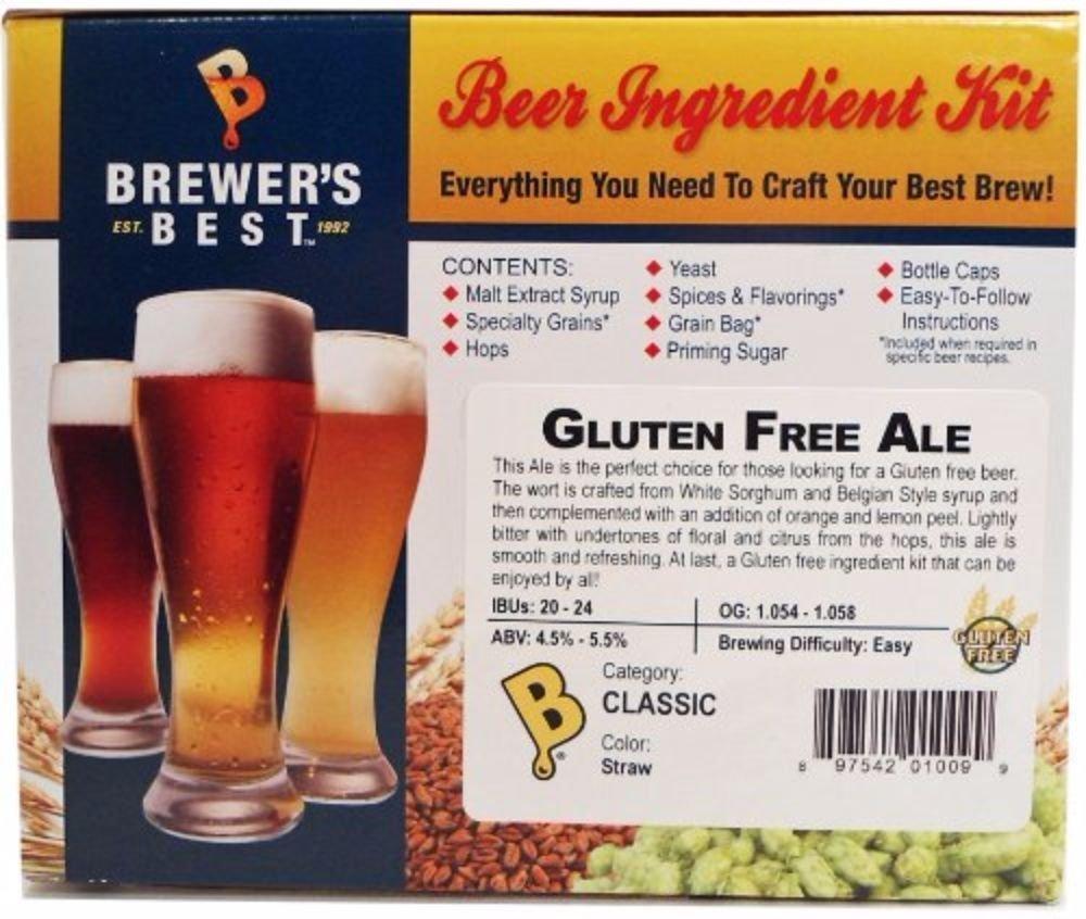 Home Brew Ohio Brewer's Best Gluten Free Ale Beer Ingredient Kit by Home Brew Ohio