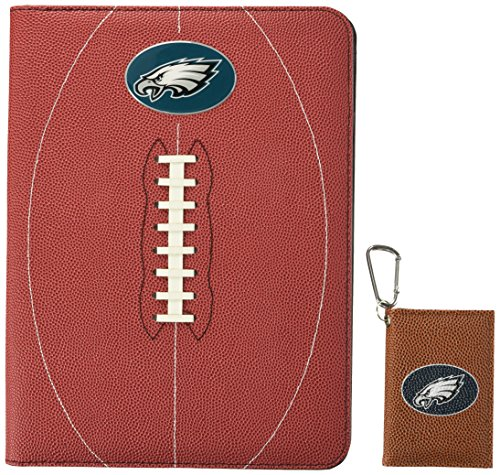 GameWear NFL Philadelphia Eagles Classic Football Portfolio & ID Holder Gift Pack, One Size, Brown ()