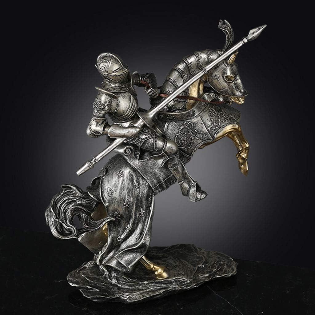 DQMSB Manualidades · Talabartería Nórdica Adornos De Samurai Accesorios De Escritorio For El Hogar Vintage Multi-Opcionales (Color : Riding Samurai A)