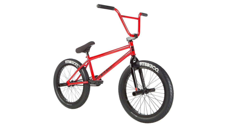 2019 BMX 20インチCorriere FCブライトレッドコンプリートバイクに適合。 B07KC5L8FP