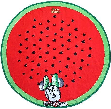 Cerd/á 2200003993 Toalla Redonda Minnie Rojo 130x130cm