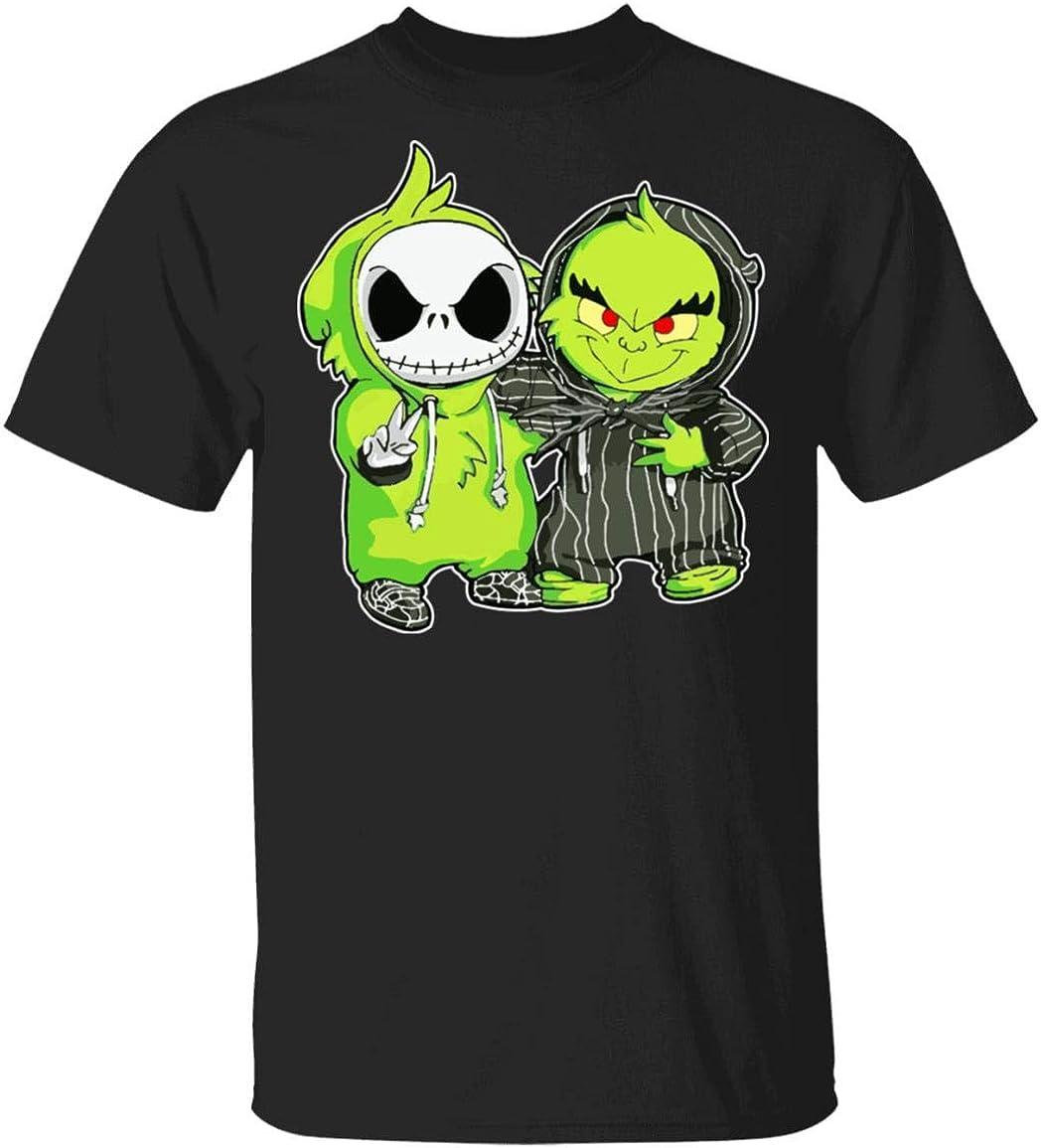 Baby G.rinch and Baby J.ACK Skellington Shirt: Amazon.es ...