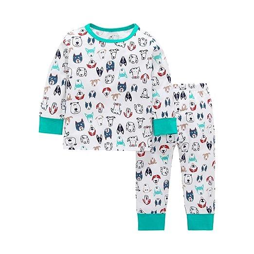Amazon.com: Iuhan Pajamas Set Toddler Baby Long Sleeve Cartoon ...