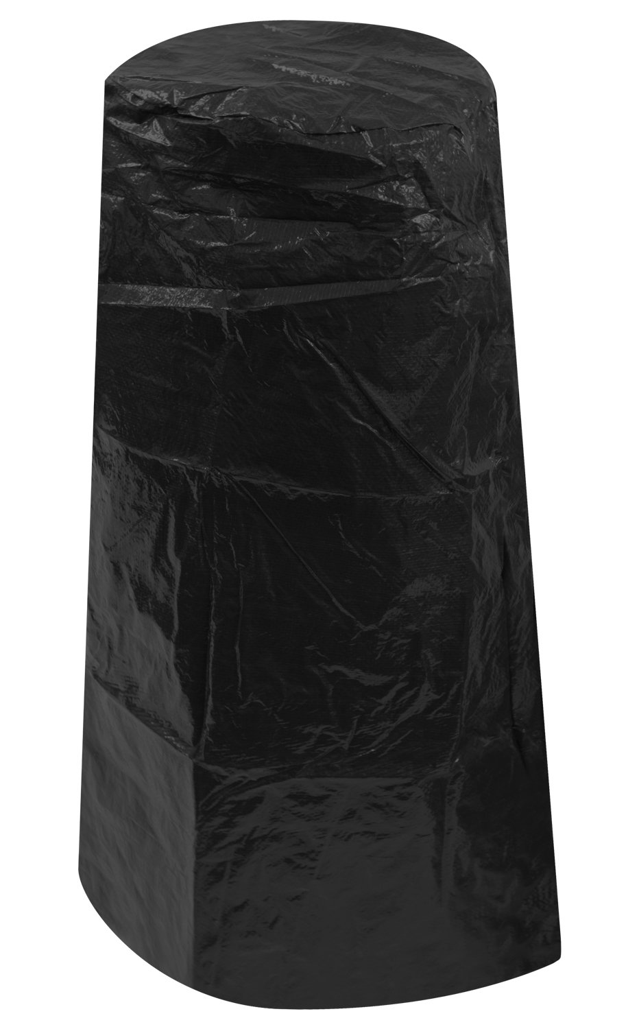 Black Outdoor Garden Chiminea Cover 1.02m x 0.39-0.62m/3.3ft x 1.25-2ft Woodside