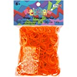 Official Rainbow Loom 600 Orange Refill Bands w/ C Clips