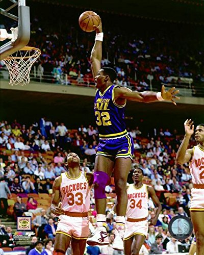 Amazon.com  Karl Malone Utah Jazz Action Photo (Size  8