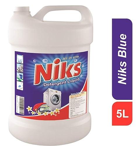 Niks - Detergente líquido (170 ml) 5 ltrs. Lavadora - Plato lavado ...