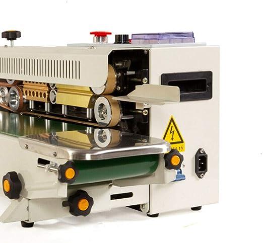 NEU FR 900 AUTOMATISCH HORIZONTAL Plastiktüte Siegelmaschine Siegel Sealing