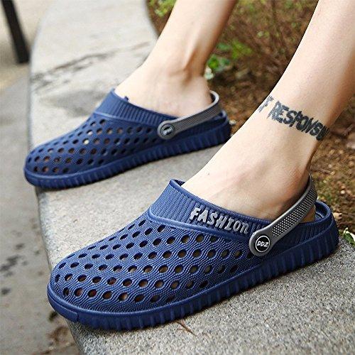 verano sandalias Chicos juvenil zapato Agujero zapato sandalias playa zapato estudiante Sandalias tendencia verano ,azul,US=9.5,UK=9,EU=43 1/3,CN=45