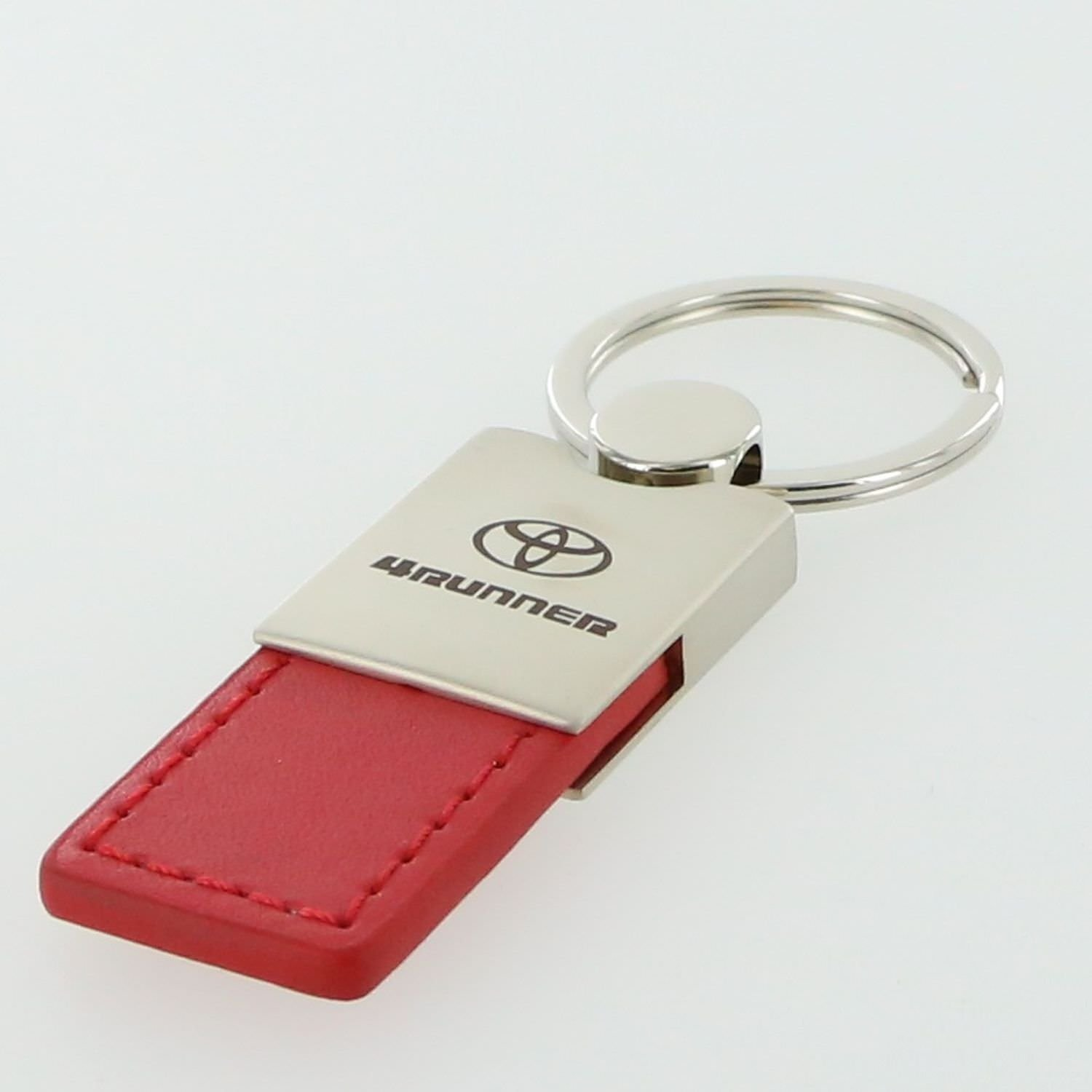 Toyota 4Runner Red Leather Key Ring