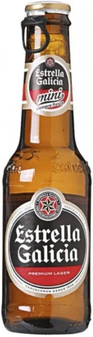 CERVEZA ESTRELLA DE GALICIA ESPECIAL LAGER PACK 24 BOTELLAS 20CL: Amazon.es: Alimentación y bebidas