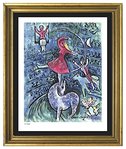 Marc Chagall Signed & Hand-numbered Limited Edition Lithograph Print,