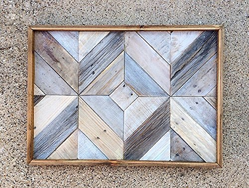 Reclaimed Wood Wall Art | whitewashed | barnwood| reclaimed wood by Dallas Farmhouse