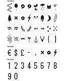 A little lovely Company - Zahlen & Symbole - für alle Leuchtkästen - Inhalt: 85 Stück
