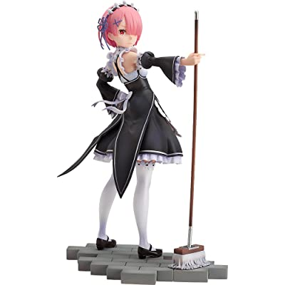 Good Smile Re: Zero: Starting Life in Another World: Ram (Maid Version) 1: 7 Scale PVC Figure: Toys & Games