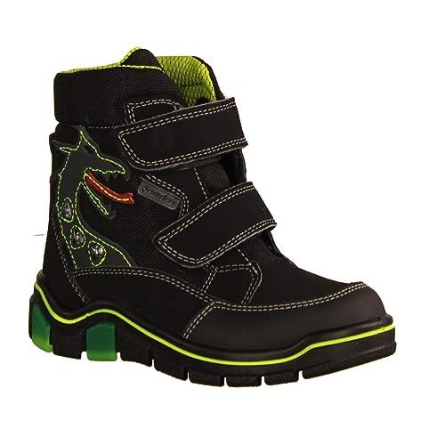 RICOSTA Jungen Stiefel Klett: : Schuhe & Handtaschen