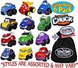 chuck truck and friends - Chuck & Friends Lil' Chuck Mini Vehicles Gift Set Blind Bundle with Exclusive
