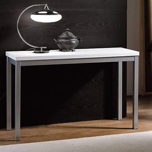 La Seggiola Consola Extensible consollina Blanca: Amazon.es: Hogar
