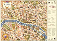 How To Make Personalized Placemats With City Maps - Pillar Box Blue
