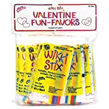 Wikki Stix Valentine Fun Favors, Pack of 50 Molding & Sculpting Sticks