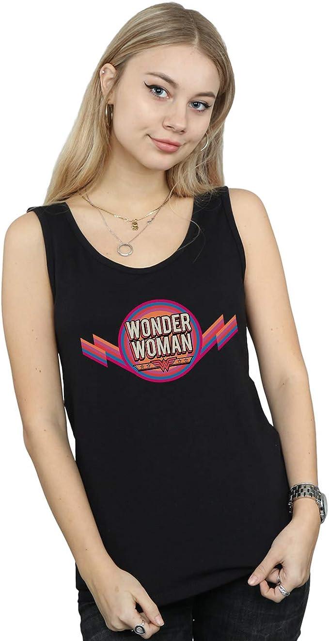 T-shirt Grey Ladies Wonder Women Rainbow DC Comics