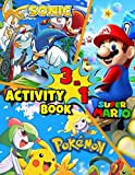 3 in 1 ACTIVITY BOOK: POKEMON, SUPER