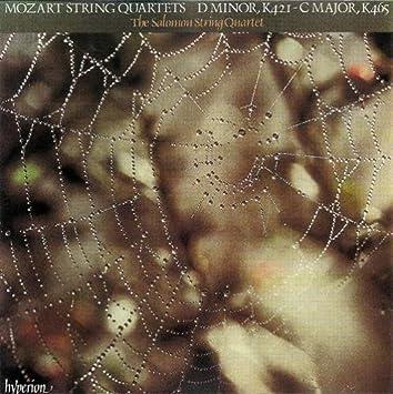 Wolfgang Amadeus Mozart, The Salomon Quartet Mozart