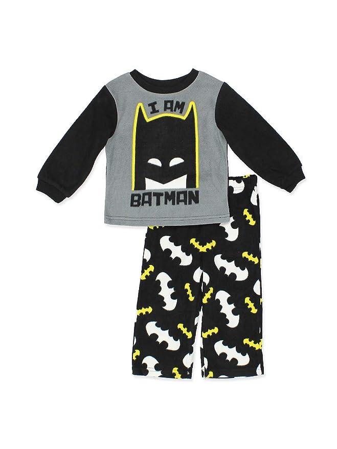 DC Comics Batman Boys Fleece Pajamas (Toddler/Little Kid)