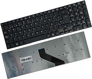 Spanish Keyboard Compatible for Acer Aspire ES1-512 ES1-711 ES1-711G ES1-531 ES1-572 ES1-731
