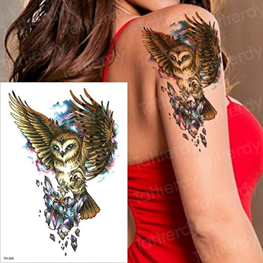 3pcsHalloween Antes de la Muerte Etiqueta engomada del Tatuaje ...