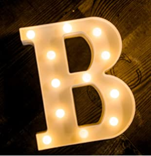 yoaky led marquee letter lights sign 26 alphabet light up marquee letters sign for night light