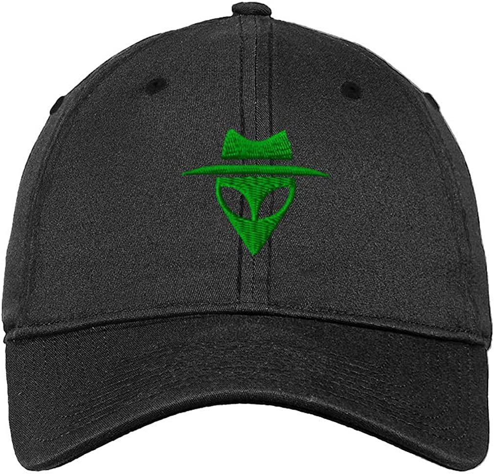 Custom Soft Baseball Cap Alien with Hat Embroidery Dad Hats for Men /& Women