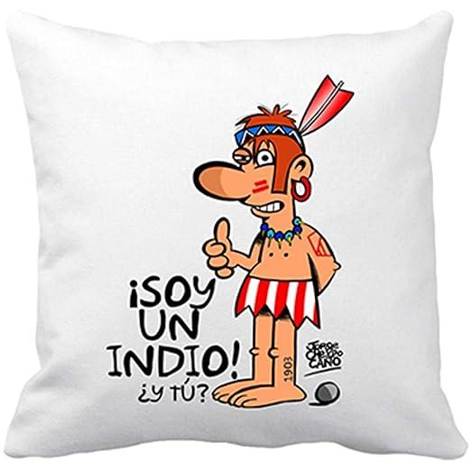 Diver Bebé Cojín con Relleno Atlético de Madrid Indios Soy ...