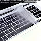 DHZ ULTRA Thin Transparent Keyboard Cover Soft TPU Skin for MacBook Pro 13