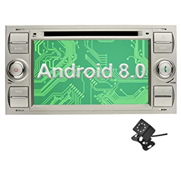Ohok Android 8.0.0 Autoradio 7 Pulgadas 2 DIN Oreo Octa Core 4GB Ram 32GB