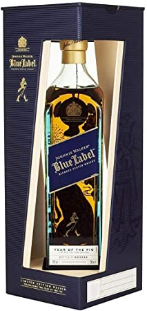 Johnnie Walker - Blue Label 2019 Chinese New Year - Year Of The Pig - Whisky