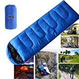 NewYouDirect Envelope Sleep bag for 4 Season Hiking,Travelling, Camping, Hiking
