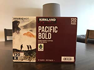 Kirkland Signature Pacific Bold K-cup, 120 Count
