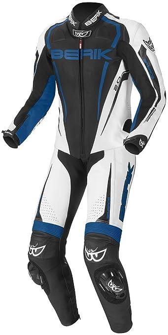 Tuta da motociclista in pelle Berik Race-X 1 pezzo