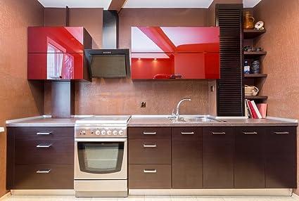 Amazon.com: Hrx Glass Aluminum Door, Kitchen Cabinet ...