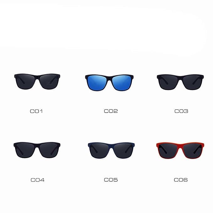 Amazon.com: anteojos de sol polarizadas Hombres Mujeres ...