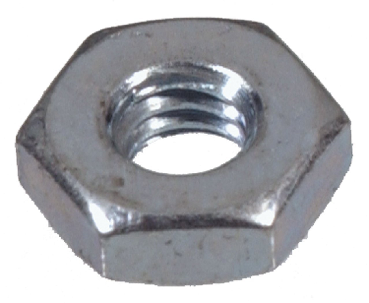 The Hillman Group 140015 Hex Machine Screw Nut 6-Inch by 32-Inch 100-Pack