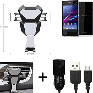 K-S-Trade® Top Set para Sony Xperia Z1 Compact Soporte ...