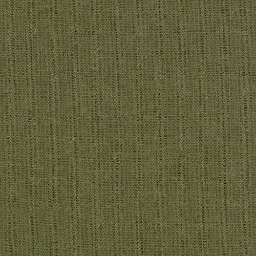 Green Linen Fabric - 1